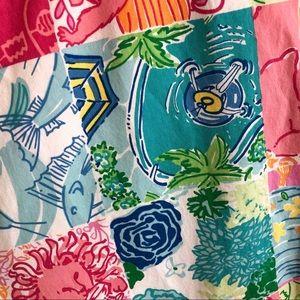 Lilly Pulitzer Pants - Lilly Pulitzer Patchwork Capri Pants • Size 8
